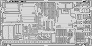 Messerschmitt Bf 109 E-3 - Exterior [Cyber Hobby] · EDU 32332 ·  Eduard · 1:32