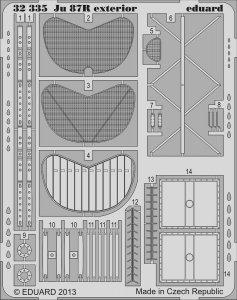 Junkers Ju 87 R - Exterior [Trumpeter] · EDU 32335 ·  Eduard · 1:32