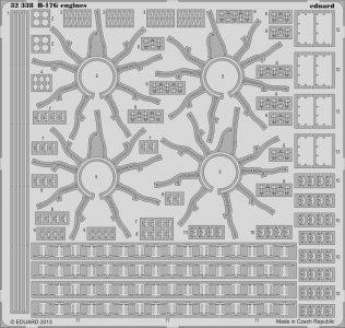 B-17G - Engines [HKM] · EDU 32338 ·  Eduard · 1:32