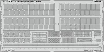 F4U-1 Corsair Birdcage - Engine [Tamiya] · EDU 32343 ·  Eduard · 1:32