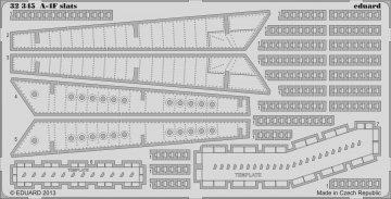 A-4F slats [Trumpeter] · EDU 32345 ·  Eduard · 1:32