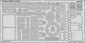 F-104G - Exterior [Italeri] · EDU 32348 ·  Eduard · 1:32