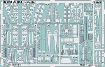 Ju 88A-4 - Exterior [Revell] · EDU 32352 ·  Eduard · 1:32