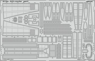 A-6A Intruder - Exterior [Trumpeter] · EDU 32353 ·  Eduard · 1:32