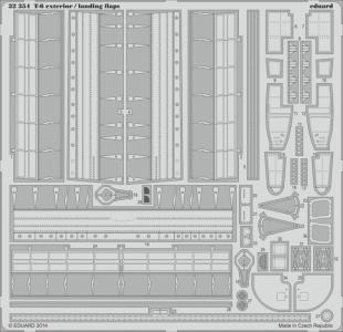 T-6 - Exterior/ - Landing flaps [Kitty Hawk] · EDU 32354 ·  Eduard · 1:32