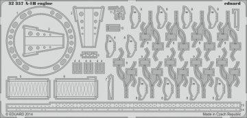 A-1H - Engine [Trumpeter] · EDU 32357 ·  Eduard · 1:32