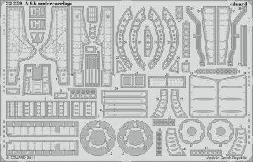 A-6A Intruder - Undercarriage [Trumpeter] · EDU 32359 ·  Eduard · 1:32