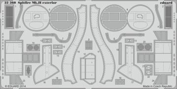 Spitfire Mk.II - Exterior [Revell] · EDU 32360 ·  Eduard · 1:32
