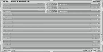 Wires & Stretchers - STEEL · EDU 32367 ·  Eduard · 1:32