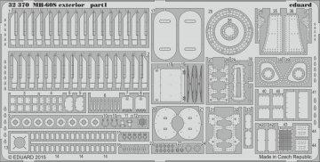 MH-60S - Exterior [Academy] · EDU 32370 ·  Eduard · 1:35