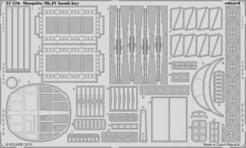 Mosquito Mk.IV - Bomb bay [HKM] · EDU 32376 ·  Eduard · 1:32