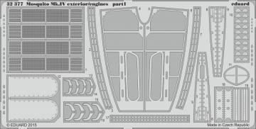 Mosquito Mk.IV - Exterior/- Engines [HKM] · EDU 32377 ·  Eduard · 1:32