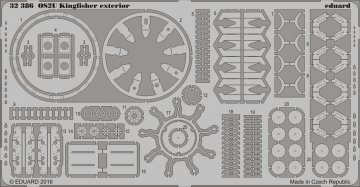 OS2U Kingfisher - Exterior [Kitty Hawk] · EDU 32386 ·  Eduard · 1:32