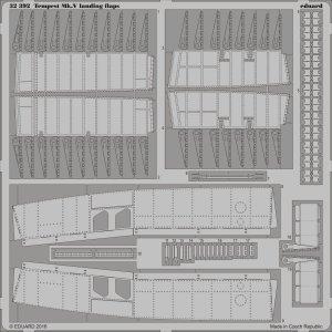 Tempest Mk.V - Landing flaps [Special Hobby] · EDU 32392 ·  Eduard · 1:32