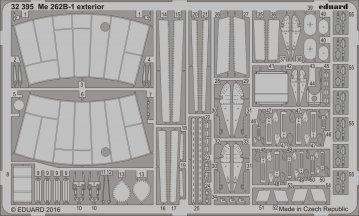 Messerschmitt Me 262 B-1 - Exterior [Revell] · EDU 32395 ·  Eduard · 1:32