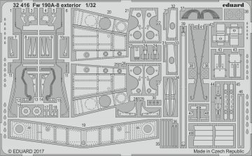 Focke Wulf Fw 190 A-8 - Exterior [Revell] · EDU 32416 ·  Eduard · 1:32
