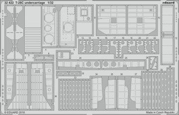 T-28C Trojan - Undercarriage [Kitty Hawk] · EDU 32422 ·  Eduard · 1:32