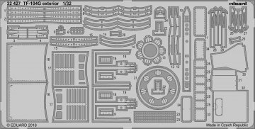 Starfighter TF-104G - Exterior [Italeri] · EDU 32427 ·  Eduard · 1:32