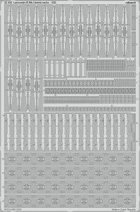 Lancaster  B Mk.I - Bomb rack [HKM] · EDU 32432 ·  Eduard · 1:32