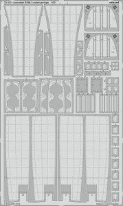 Lancaster B Mk.I - Undercarriage [HKM] · EDU 32433 ·  Eduard · 1:32
