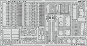 F-5F Tiger II -  - Exterior [Kitty Hawk] · EDU 32435 ·  Eduard · 1:32