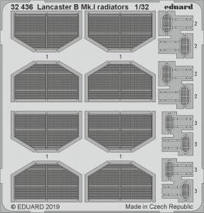 Lancaster B Mk.I - Radiators [HKM] · EDU 32436 ·  Eduard · 1:32