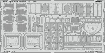 Westland Lynx Mk.8 - Exterior [Revell] · EDU 32442 ·  Eduard · 1:32