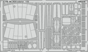 Messerschmitt Me 262A - Exterior [Revell] · EDU 32448 ·  Eduard · 1:32