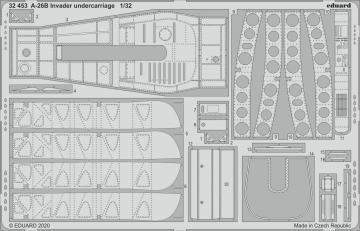 A-26B Invader - Undercarriage [HobbyBoss] · EDU 32453 ·  Eduard · 1:32