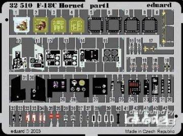 F-18C - Interior [Academy] · EDU 32510 ·  Eduard · 1:32