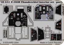 F-105D Thunderchief Interior für Trumpeter Bausatz · EDU 32514 ·  Eduard · 1:32