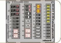 F-16 Falcon - Placards [Hasegawa] · EDU 32517 ·  Eduard · 1:32