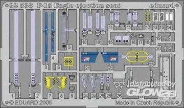 F-15C - Seat [Tamiya] · EDU 32538 ·  Eduard · 1:32