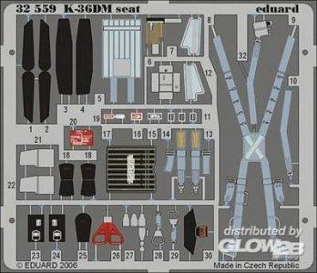 MiG-29 Fulcrum K-36DM seat [Trumpeter] · EDU 32559 ·  Eduard · 1:32
