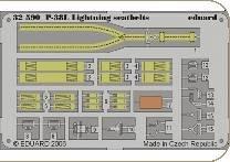 P-38L Lightning - Seatbelts [Trumpeter] 02227 · EDU 32590 ·  Eduard · 1:32