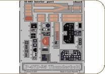 P-47D-25 Thunderbolt - Interior S.A., [Hasegawa] · EDU 32603 ·  Eduard · 1:32