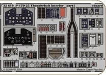 P-47D-25 Thunderbolt interior für Trumpeter Bausatz · EDU 32610 ·  Eduard · 1:32