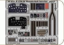 P-47D-20 Thunderbolt interior s.adh. für Trumpeter Bausatz · EDU 32613 ·  Eduard · 1:32