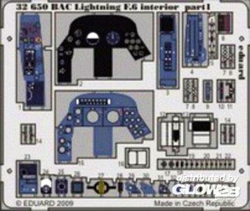 BAC Lightning F.6 - Interior S.A. [Trumpeter] · EDU 32650 ·  Eduard