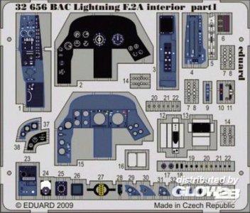 BAC Lightning F.2A - Interior S.A. [Trumpeter] · EDU 32656 ·  Eduard · 1:32