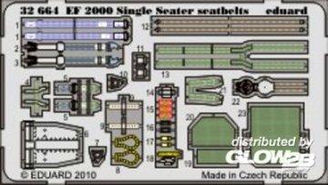 EF 2000 Single Seater - Seatbelts [Revell] · EDU 32664 ·  Eduard · 1:32