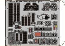 P-40N early - Interior S.A. [Hasegawa] · EDU 32677 ·  Eduard · 1:32