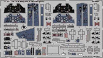 Su-25UB Frogfoot B - Interior [Trumpeter] · EDU 32727 ·  Eduard · 1:32