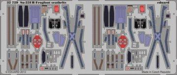 Su-25UB Frogfoot B - Seatbelts [Trumpeter] · EDU 32729 ·  Eduard · 1:32