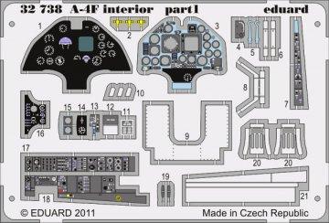 A-4F - Interior S.A. [Trumpeter] · EDU 32738 ·  Eduard · 1:32