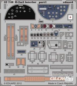 II-2m3 interior S.A. for Hobby Boss · EDU 32740 ·  Eduard · 1:32