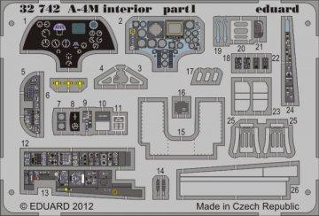 A-4M - Interior S.A. [Trumpeter] · EDU 32742 ·  Eduard · 1:32