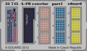 A-4M - Exterior [Trumpeter] · EDU 32745 ·  Eduard · 1:32