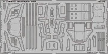 B-25J correct pilot seats [HKM] · EDU 32750 ·  Eduard · 1:32