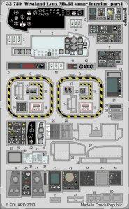 Lynx Mk.88 sonar - Interior S.A. [Revell] · EDU 32759 ·  Eduard · 1:32